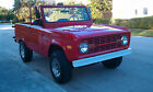 Ford  Bronco Sport 1977 uncut ford bronco