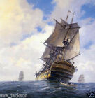 High-quality Landscape Oil Painting,geoff hunt HMS Bellona 24x36inch