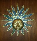 PEPE MENDOZA BRASS SUN DOOR ORNAMENT Brass MEXICAN ART Aztec Mid Century Modern