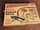 STROMBECKER THUNDERBOLT III TRIPLE MONZA BANKED WALLS 31 FT SLOT CAR RACE TRACK