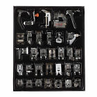 32 PCS Domestic Sewing Machine Presser Foot Feet Part For Janome Brother Singer
