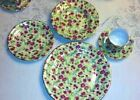 56-Piece BAUM BROTHERS Formalities CHARLOTTE Chintz Dinner +Tea Service