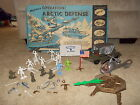 1960's Operation: Arctic Defense Army Men Playset Toy Soldiers *Ultra Rare* HTF