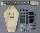 Coffin / Casket Body Style - DIY Unfinished Project Luthier Electric Guitar Kit