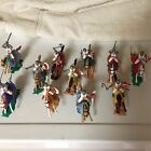Ten Vintage TIMPO 1970's Mounted CRUSADERS/KNIGHTS 1st version made in England