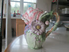 FITZ AND FLOYD FAUNA FLORA  FLOWER PITCHER...MINT CONDITION...9 1/2