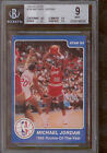 1984-85 Star #288 Michael Jordan BGS 9 1985 Rookie of the Year Pop 4 None Higher