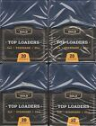 200 Cardboard Gold 3x4 Sports Card Top Loaders - (8 Packs of 25)