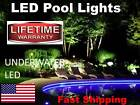 SWIMMING POOL lights WATERPROOF Underwater for top or bottom of pool NEW