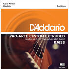 DAddario EJ65B Pro Art Custom Extruded Baritone Ukulele Strings 28 35