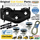 903 04328 Black RZT 50 Deck Kit Shell Spindles Belt Blades MTD