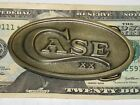 Case Pewder Oval 1.5 inch unsex made in USA Belt Buckle Collect Knife Cutlery Co