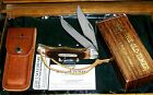 Schrade 25OT Folding Bowie A Knife Like Granddads W/Original Sheath