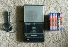 VINTAGE PANASONIC SLIM LINE TAPE PLAYER/RECORDER AUTO STOP RQ-2745 Microphone