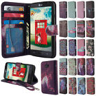 For LG Optimus L70 MS323 Flip PU Leather Wallet Card Holder TPU Stand Case Cover
