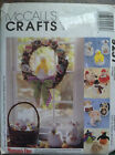 12 SEASONAL DOLLS, BASKET & WREATH Pattern – Christmas, Easter & Halloween