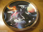 Mint 1999 Franklin Mint Star Trek Plate 12 3/8