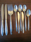 9 PIECES: Vintage Wm. ROGERS silverplate: CAMILLE pattern!