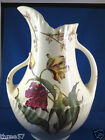 Antique Double Handled Water Pitcher  George Jones & Sons  Late 1800's Free Ship