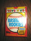 1990 COLLECTABLE TOPPS TOYS R US ROOKIES BASEBALL TRADING CARDS FACTORY SEAL BOX