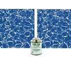 Swimming Pool Patch Liners 2pc Vinyl Inground Above Ground Repair Kit 1ft x 8in