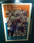 RARE Signed 1984 Dolphins Police Dan Marino Rookie Card RC Auto Autograph HOF