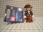 LEGO SUPER HEROES JACK SPARROW KEYCHAIN NEW BROWN WHITE  BLACK