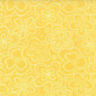 Yellow Tonal Flower Chance of Flowers Fabric - Moda - Sandy Gervais -BTY-1776915