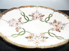 Vintage Antique Platte  Dish Serving  Bowl Decorative Plate Tray Gold, Pink