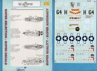 P-51B Mustang Aces 1/48 Microsale Decals #90 8th AF Turner Brown Beeson England