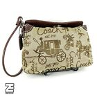 Coach - Horse & Carriage Turnlock Large Wristlet (F43630) (New w/out Tags)