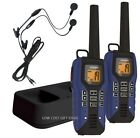 Waterproof Walkie Talkie 50 Mile Long Range Two Way Radio Hunting Outdoor Travel