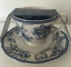 222 FIFTH ADELAIDE BLUE CUP AND SAUCER SET BRAND NEW! TEA COFFEE