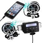 Waterproof Audio Radio MP3 Speakers for Suzuki Intruder VS 1400 1500 750 VL 800