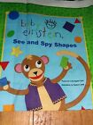 BABY EINSTEIN SEE AND SPY SHAPES SOFT  FABRIC BOOK PANEL ~ RARE
