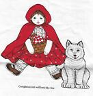 Little Red Riding Hood Fabric Panel VIP Cranston Print Works Uncut VG Clean