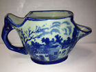 IRONSTONE BLUE & WHITE SCUTTLE SHAVING MUG