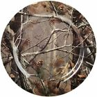 NEW! Camo Dinner Plates Hunting/Camping/Fishing Set of 6 Kitchen