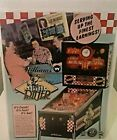 DINER 1990 ORIGINAL NOS  PINBALL MACHINE SALES FLYER  by WILLIAMS