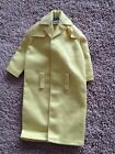 VTG Barbie 1960s Yellow Raincoat  # 949 Toy Doll Clothes