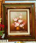 Original Still Life Oil Painting Signed by Robert Cox on Canvas Panel