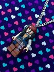 Jack Sparrow Pirates Figure Necklace...Handmade using LEGO® parts