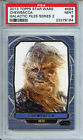 2013 TOPPS STAR WARS GALACTIC FILES SERIES 2 #484 CHEWBACCA PSA 9 *184