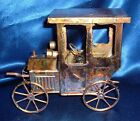 Vintage Music Box Copper Brass Tin Antique Car Unknown Tune
