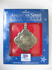 "NEW Hallmark US American Spirit ""Massachusetts"" Yr. 2000 State Quarter Ornament"