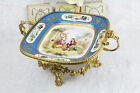 Exclusive SEVRES Porcelain Bronze brass ormulu mounted Centerpiece French marked