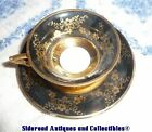 Vintage Eschenbach Bavaria Germany Cup & Saucer Blue Gold W467 22