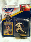 HOF RICKEY HENDERSON 1991 OAKLAND  STARTING LINEUP FIGURE KENNER W CARD