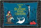 Nightmare Before Christmas 8x10 Fabric Quilt Block Quilting Sewing Square 3