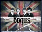 The Beatles 8x10 Fabric Quilt Block Quilting Blanket Sewing Fusing Square 26